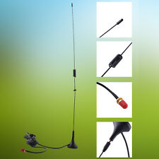 For Baofeng UV5R Car Antenna Mini Type High Gain Antenna SMA-F Magnetic Antenna