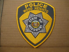 WOOD HEIGHTS MISSOURI POLICE PATCH