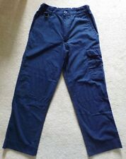 Blue official SCOUTS uniform TROUSERS age 11-12 from SCOUT SHOPS