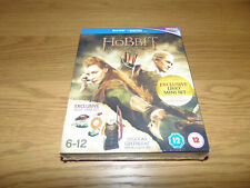 The Hobbit The desolation of Smaug Blu-Ray + Exclusive Legolas Lego Mini Set New