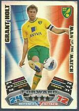 TOPPS MATCH ATTAX 2011-12- #396-MOTM-NORWICH CITY-GRANT HOLT