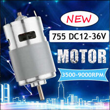 775 Dc 24v 7000rpm Motor Ball Bearing Large Torque Low Noise Amp Cooling Fan P0h2