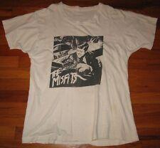THE MISFITS - BULLET XL T-shirt GLENN DANZIG Samhain Vintage Concert Tee RARE NR
