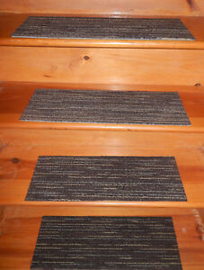13 = Step  In/Outdoor Stair Treads Non-Slip Staircase Carpet  8'' x 24'' VP 0043
