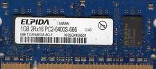 NEW 1GB Dell Inspiron B120 / B130 / 9300 DDR2 Laptop/Notebook RAM Memory