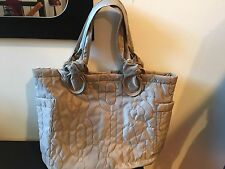 NEW MARC BY MARC JACOBS BEIGE CEMENT LARGE DIAPER BAG TOTES & SHOPPERS