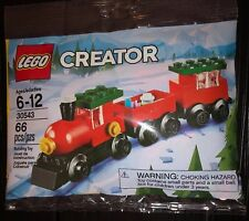 Lego Creator Christmas Train 66 pc polybag. 30543 New Sealed. Auction