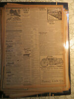 Motorcycle History Newspaper 1914 INDIAN MODEL 7-C PHOENIX AS + AUTO MOTORBIKES