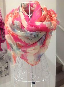 Gorgeous large floral chiffon, sarong, scarf, shawl, wrap 191cmx142cm