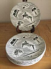 VINTAGE RIDGEWAY HOMEMAKER 7 INCH SIDE PLATES VGC. £5.00 per ONE plate