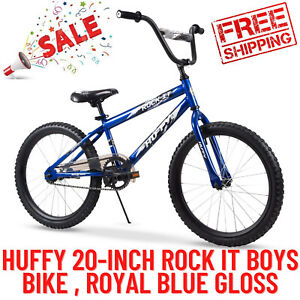 Huffy 20-Inch Rock It Boys Bike, Quick And Easy Assembly With 3 Simple Steps