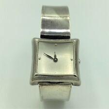 Vintage Robert Lee Morris Swiss Sterling 4J Ladies Wrist Watch #902002 Running