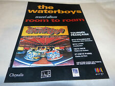 THE WATERBOYS - Publicité de magazine / Advert !! ROOM TO ROAM !!!