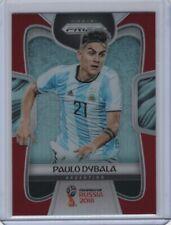 2018 Panini Prizm World Cup Red Prizm #10 Paulo Dybala 31/149