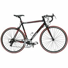 58cm mens womens  black road bike bicycle  700C SHIMANO entry level
