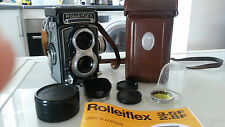 Rolleiflex T 75mm f3.5 en excellent état