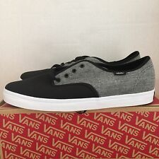 VANS MADERO C&C BLACK PEWTER SIZE 11 NEW WITH BOX