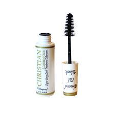 Christian Super Long Lash Treatment Waterproof Mascara Almond Oil Black