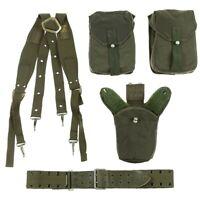 Original Schwed. Armee Tactical Set 5-teilig Weste oliv Einsatzweste BW Modular