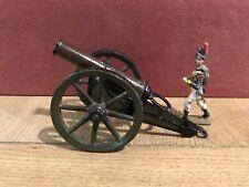 Marklin. Rare Metal Canon, Pull Release Mechanism. ~70mm Scale. Pre War
