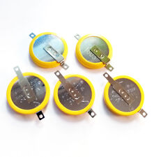 5 X New 3V Tabbed CR2032 Save Battery For Game Boy Pokemon Red Blue Gold Silver