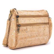 Handmade cork women's handbag cross body shoulder bag, vegan, sustainable