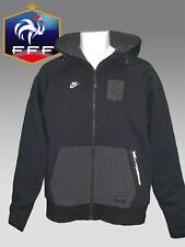 Nuevo Nike Ropa Deportiva NSW Francia Fútbol Sudadera con Capucha Jacket Negro M