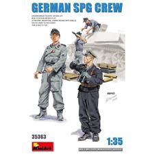 MiniArt 1 35th Scale Model Kit Figures German SPG Crew Min35363