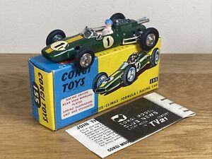 Corgi Toys Lotus-Climax Formula 1 Racing Car 155 Diecast Model Large Collection
