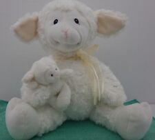 "✔ 10"" Gund Nursery Time Lena Lamb Excellent Condition!"