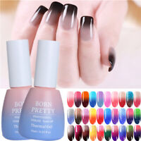 Winter Thermal Nail UV Gel Polish Color Changing Soak Off Nail UV Gel Varnish