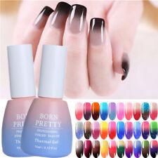 Winter Thermal Nail UV Gel Polish Color Changing Soak Off Nail UV Gel Varnish