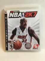 NBA 2K7 --- PLAYSTATION 3 PS3 Complete CIB w/ Box, Manual