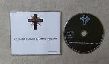 "CD AUDIO MUSIQUE / NIAGARA ""PENDANT QUE LES CHAMPS BRÛLENT"" CDM 1990 3T  RARE"