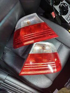 bmw e46 clear tail lights