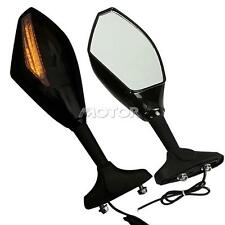 Turn Signal LED View Mirrors For Honda VFR 800 Interceptor  2003-2007