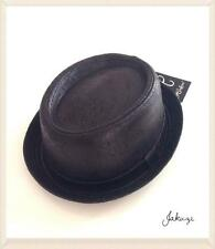NEW MEN'S HEISENBERG PORK PIE BREAKING BAD WALTER WHITE STYLE BLACK HAT MOD/SKA