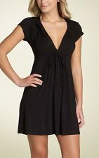 Robin Piccone Hoodie Cover up Dress M (Black)