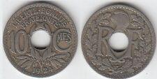Gertbrolen  10 Centimes  en Cupro-Nickel Lindauer 1924  Atelier de Poissy  N° 6