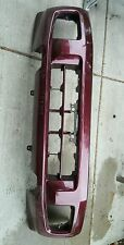 01 - 03 INFINITI QX4 FRONT BUMPER COVER red burgundy