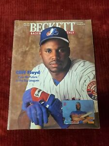 BECKETT BASEBALL CARD MONTHLY MAY 1994 CLIFF FLOYD