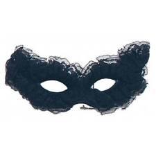 Mujer Encaje Negro Baile De Máscaras Antifaz Elegante Vestido Baile Carnaval