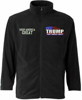 Trump Keep America Great Jacket MAGA FeatherLite - Microfleece Full-Zip Jacket