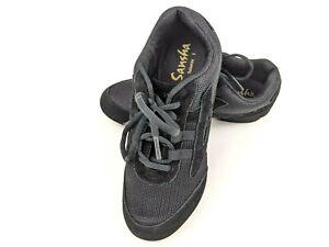 NEW Skazz by Sansha Salsette 1 Jazz Sneaker Black Woman Size 10M - V931