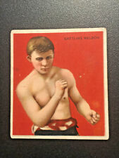 1910 T218 HASSAN CIGARETTES  SERIES 1 BATTLING NELSON BOXING CARD