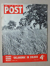 ANCIEN MAGAZINE - PICTURE POST - N° 6 VOL. 36 - 9 AOUT 1947 *