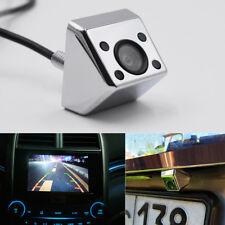 Universal Silber Kfz Rückfahrkamera Nachtsicht 12V Wasserdicht Infrarotlicht 1x