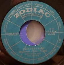 Snow White and Dwarfs Rare Psych 45 East to be Hard / I Love you more Zodiac Int