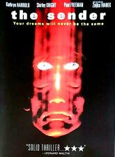 The Sender 1982 Kathryn Harolld (Dvd) NEW/UNSEALED US IMPORT R1 RARE 80'S HORROR