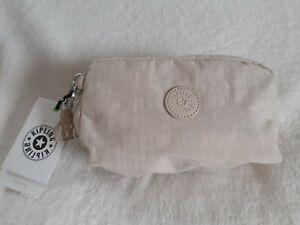 Kipling Gleam Ivory, Pouch / Make Up Bag, BNWT